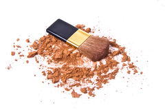 Crushed eyeshadow Royalty Free Stock Image