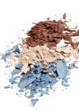 Crushed Eyeshadow stock images