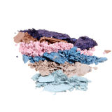 Crushed Eyeshadow Stock Photo