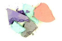 Crushed Eyeshadow Stock Photo