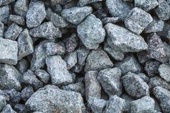 Crushed granite Royalty Free Stock Photos
