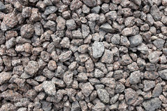Crushed granite stone Stock Photos