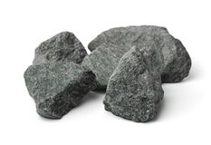 Crushed granite stones Royalty Free Stock Photography