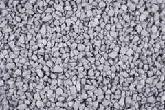 Crushed gravel background Stock Photography