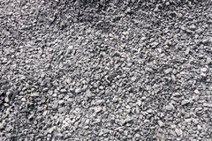 Crushed gravel background. Stock Image