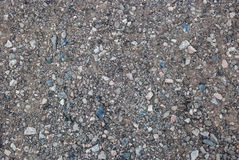Crushed Gravel with Blue and White Chips Stock Images