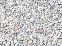 Crushed gravel Stock Photo