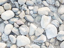 Crushed gravel Stock Image