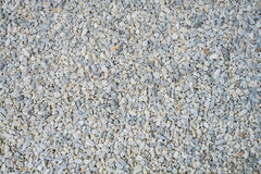 Crushed gravel texture as background Royalty Free Stock Image