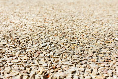 Crushed gravel Royalty Free Stock Photos