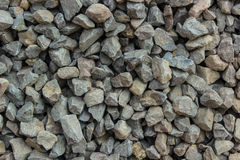 Crushed gravel texture. For construction Stock Photo