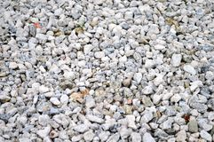 Crushed Gravel Texture Royalty Free Stock Image