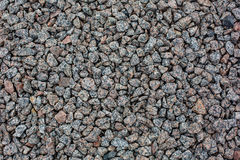 Crushed gravel texture Stock Image