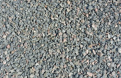Crushed gravel texture. Stock Photography