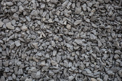 Crushed gravel texture Royalty Free Stock Images
