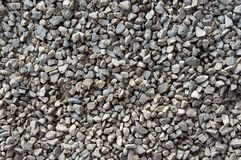 Crushed gravel texture Stock Images