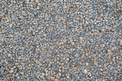 Crushed gravel texture Royalty Free Stock Photography