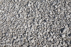 The Crushed gravel Royalty Free Stock Photography
