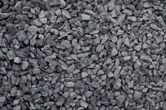 Crushed gravel textures. Crushed gravel texture for construction site background Stock Image