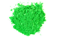 Crushed Green Eyeshadow Royalty Free Stock Photos