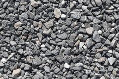 Crushed grey stones Stock Photo