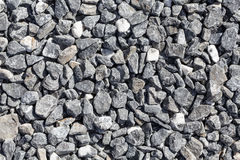 Crushed grey stones Royalty Free Stock Photos