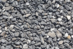 Crushed grey stones Royalty Free Stock Images