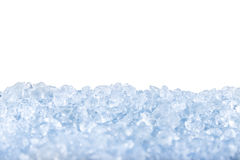 Crushed Ice Background. Royalty Free Stock Image