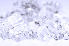 Crushed ice background Royalty Free Stock Photography