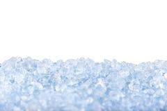 Crushed ice background. Royalty Free Stock Image
