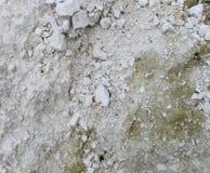 Crushed Limestone abstract asphalt background black boulder brick brown Stock Photo
