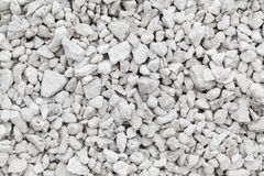 Crushed limestone Royalty Free Stock Images