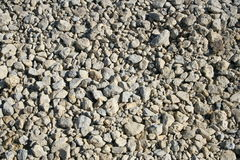 Crushed limestone 2  Royalty Free Stock Images