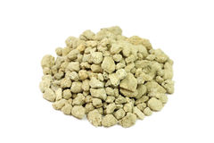 Crushed limestone yellow Stock Photo