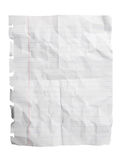 Crushed Notepad Paper Sheet Stock Photos