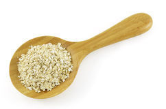 Crushed oats Stock Image