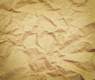 Crushed old paper grunge background with space for Stock Image