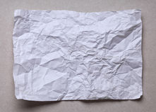 crushed paper Royalty Free Stock Photography