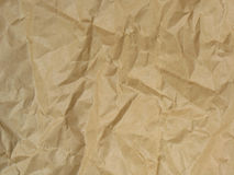 Crushed paper. royalty free stock images