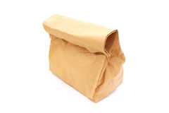 Crushed paper bag Royalty Free Stock Photos