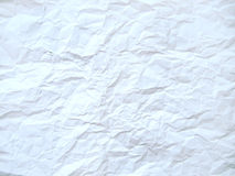 Crushed paper texture Stock Images