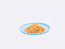 Crushed peanuts Royalty Free Stock Photos