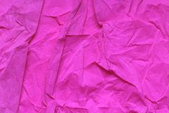 Crushed Pink Paper Royalty Free Stock Photo