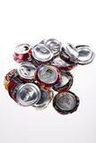 Crushed Pop Cans Stock Images