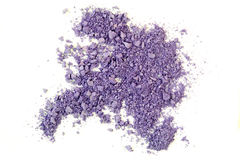 Crushed Purple Eyeshadow Stock Image