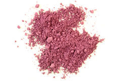 Crushed Purple Eyeshadow Stock Photo