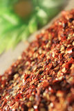 Crushed red pepper abstract Royalty Free Stock Photography