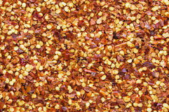 Crushed Red Pepper Background Royalty Free Stock Photos