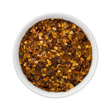 Crushed Red Pepper in a Ceramic Bowl Stock Photos