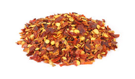 Crushed red pepper seasoning Royalty Free Stock Photo